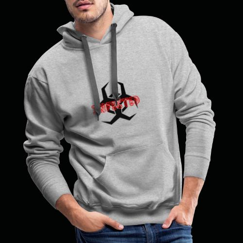 infected - Sweat-shirt à capuche Premium pour hommes