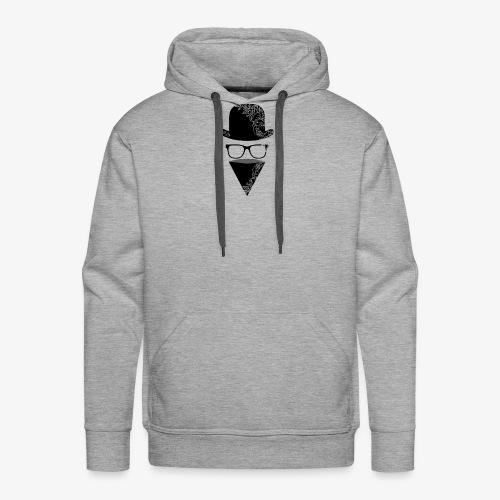 BRZY LOGO BLACK - Men's Premium Hoodie