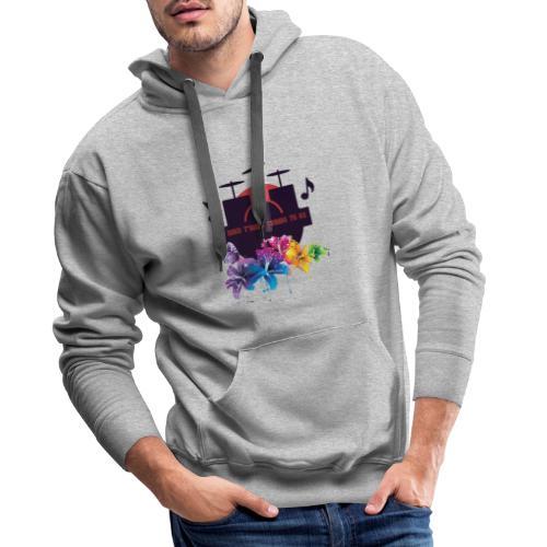 logo11 18 20141 - Sweat-shirt à capuche Premium pour hommes