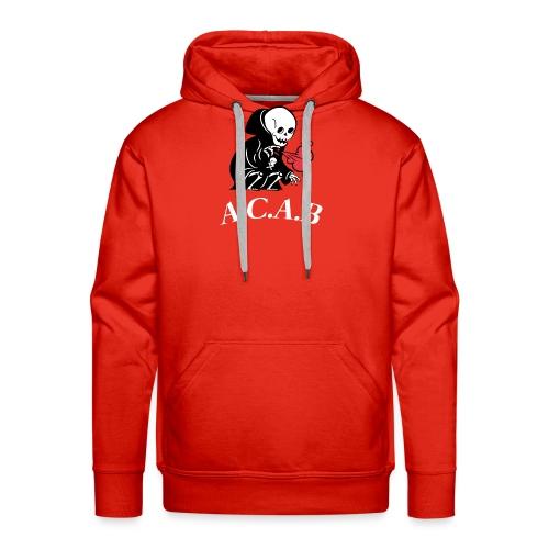 A.C.A.B la mort - Sweat-shirt à capuche Premium pour hommes