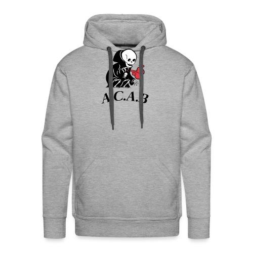 la mort - Sweat-shirt à capuche Premium pour hommes