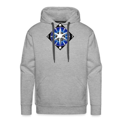 Blason elfique - Sweat-shirt à capuche Premium pour hommes