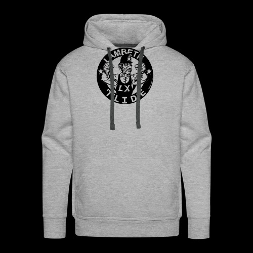 LAMBETH - BLACK - Men's Premium Hoodie