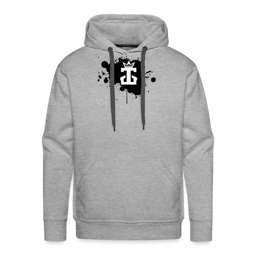 Jamie Gos Logo Splatter - Men's Premium Hoodie