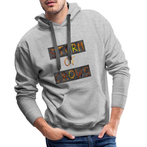 Storm of Crows Logo - Men's Premium Hoodie