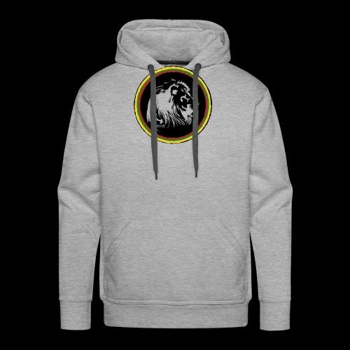 LION HEAD SISSOR CUT UNDERGROUND SOUNDSYSTEM - Männer Premium Hoodie