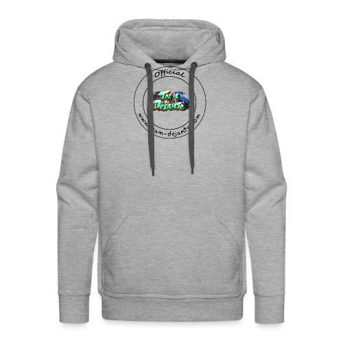 Officiel TD Logo - Sweat-shirt à capuche Premium pour hommes