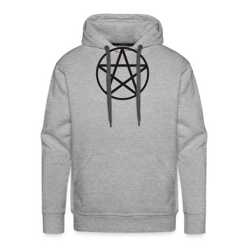 pentagram spread - Bluza męska Premium z kapturem