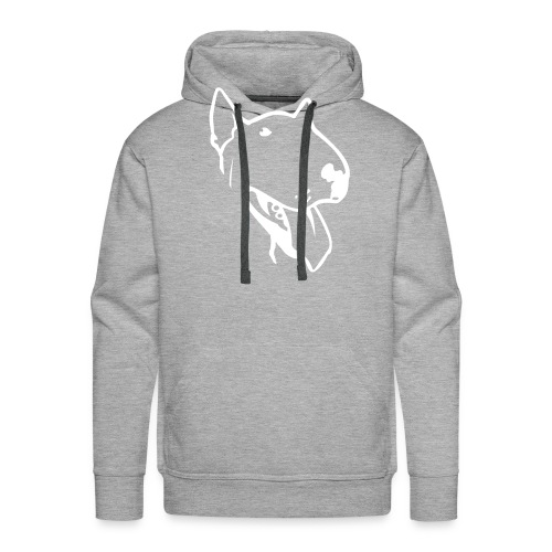 bull terrier small - Men's Premium Hoodie