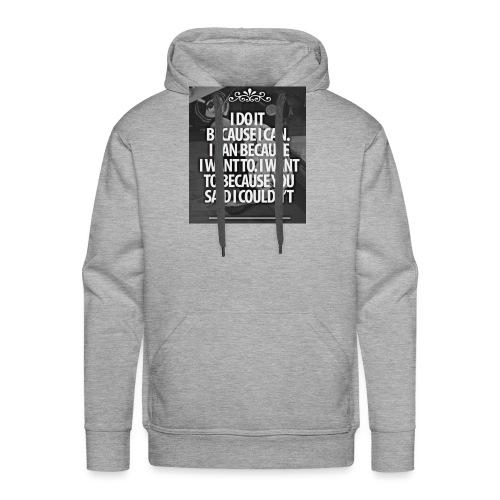 I_DO_IT - Mannen Premium hoodie