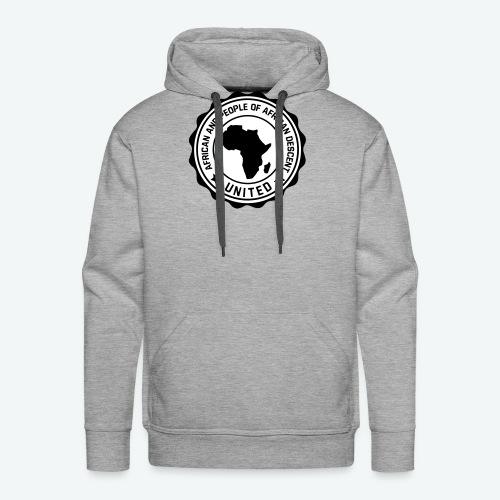 united africa 001 - Sweat-shirt à capuche Premium pour hommes