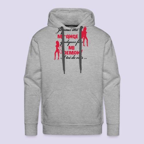 Mi-ange Mi-demon - Men's Premium Hoodie