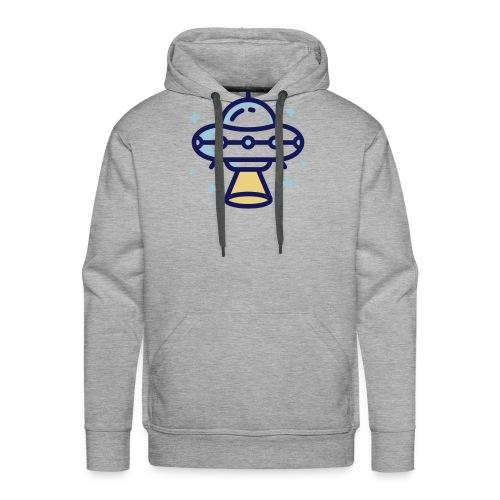 Space Spaceship - Mannen Premium hoodie