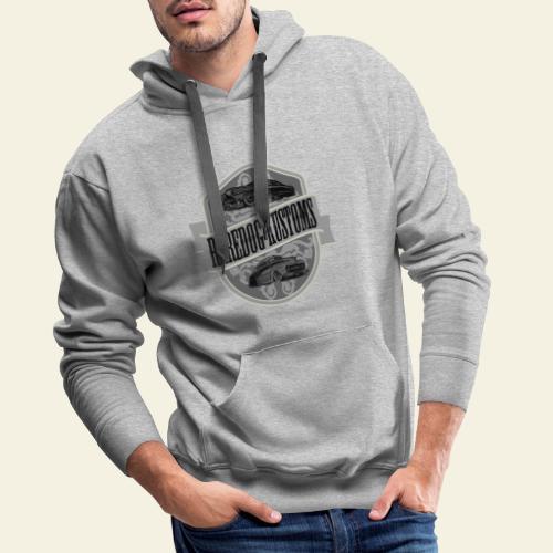 rd kustoms gray - Herre Premium hættetrøje