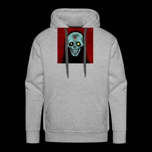 Ghost skull - Men's Premium Hoodie