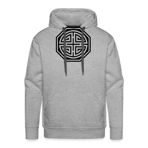 Chinesisches Glücks Symbol, Four Blessings, Segen - Männer Premium Hoodie