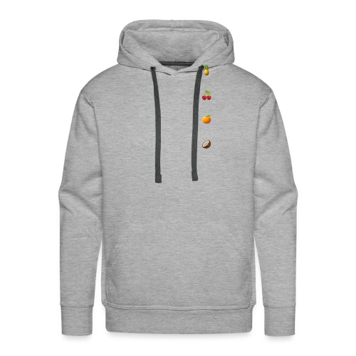 All fruits - Mannen Premium hoodie