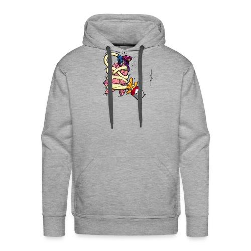 TABAC POUMON - Sweat-shirt à capuche Premium pour hommes