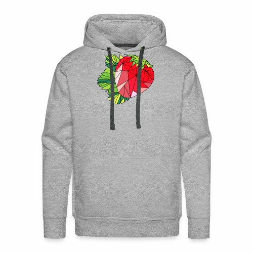 Sweet strawberry - Bluza męska Premium z kapturem