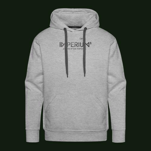 Tee shirts Imperium Logo - Sweat-shirt à capuche Premium pour hommes