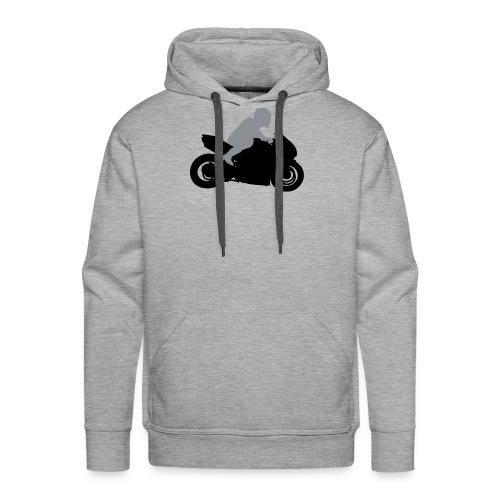 Biker Silhouette - Männer Premium Hoodie