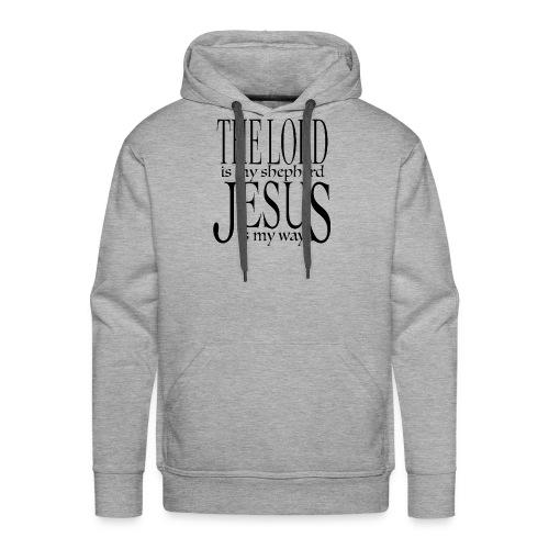 The Lord is my shepherd - Premiumluvtröja herr
