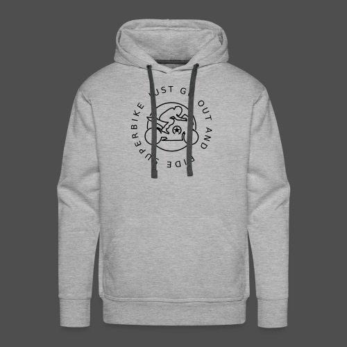 just go out and ride superbike 0GO04 - Men's Premium Hoodie