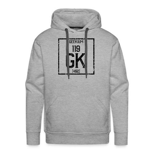 Geekium - noir - Sweat-shirt à capuche Premium pour hommes