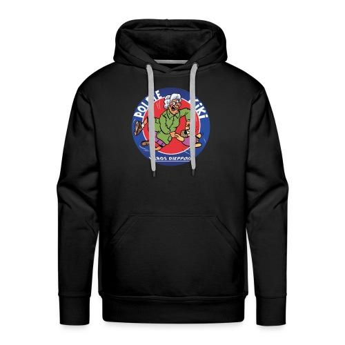 tshirt polete heros dieppois - Sweat-shirt à capuche Premium pour hommes