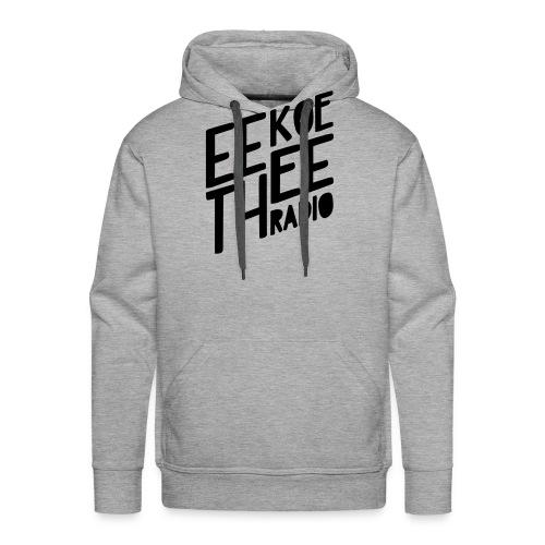 Logo_Black_Eekoethee - Mannen Premium hoodie