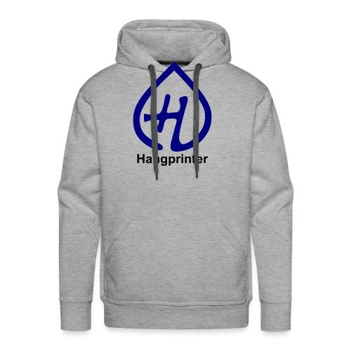 Hangprinter logo and text - Premiumluvtröja herr