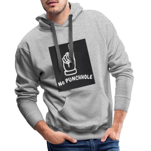 No Punch in my Face 1 - Männer Premium Hoodie