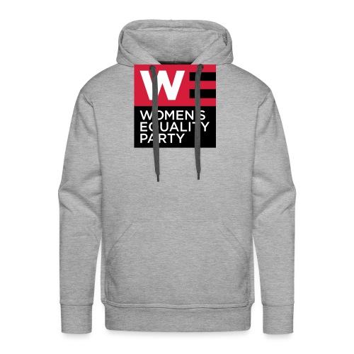 WE_LOGO_RED_CMYK - Men's Premium Hoodie