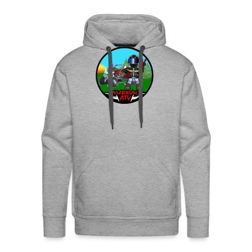 Logo aubrac ATV - Sweat-shirt à capuche Premium pour hommes
