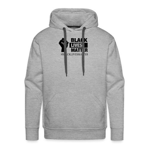 BLACKLIVESMATTER noir - Sweat-shirt à capuche Premium pour hommes
