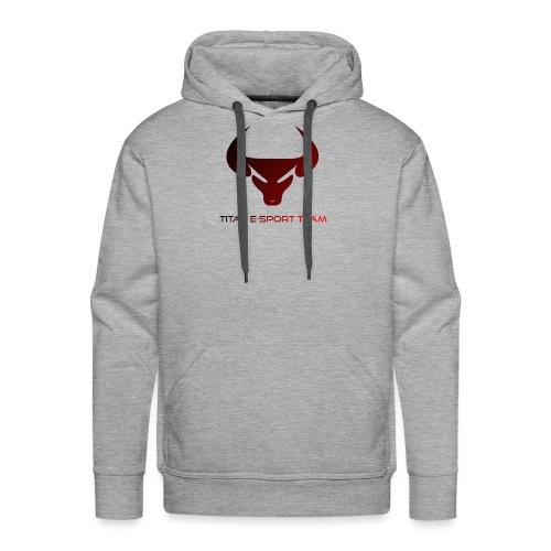 logo TET - Sweat-shirt à capuche Premium pour hommes