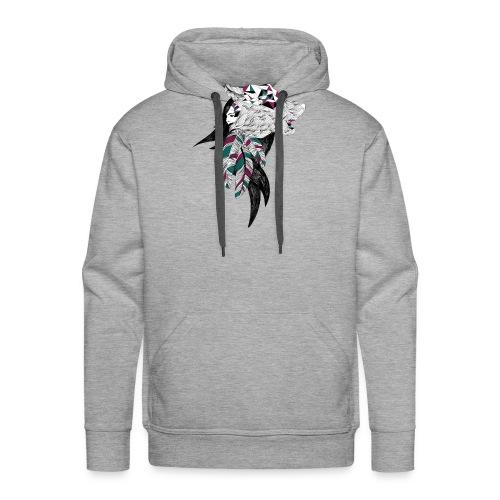 WOLF LADY - Sweat-shirt à capuche Premium pour hommes