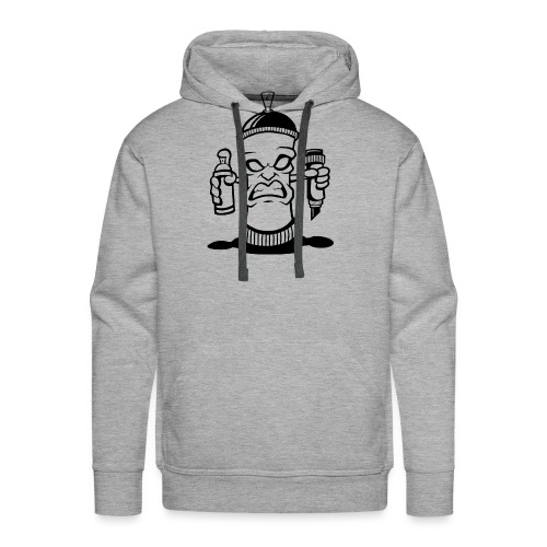 Graffiti Spraydose - Männer Premium Hoodie