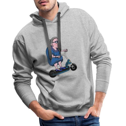 o matko - Bluza męska Premium z kapturem