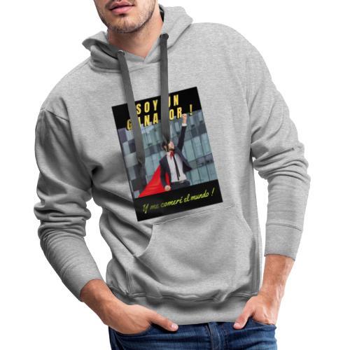 SOY UN GANADOR 2 - Sudadera con capucha premium para hombre