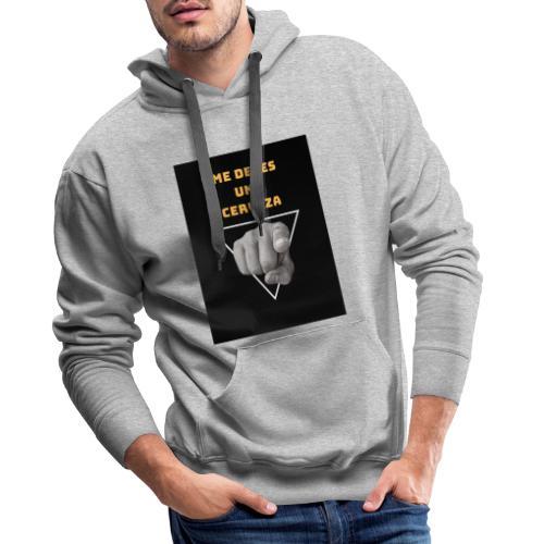 Camiseta Cerveza - Sudadera con capucha premium para hombre