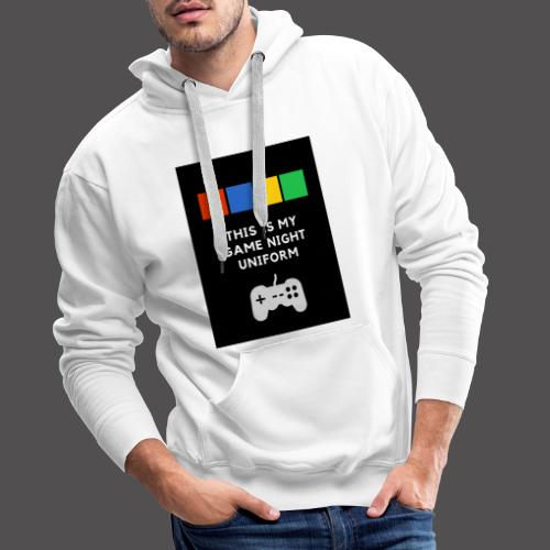 Game night uniform - Sudadera con capucha premium para hombre