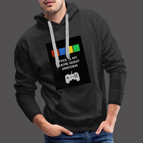 Game night uniform - Sudadera con capucha premium para hombre
