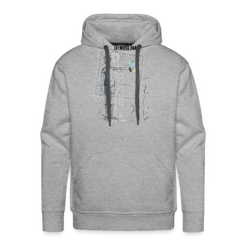 Tourist Man - Sweat-shirt à capuche Premium pour hommes
