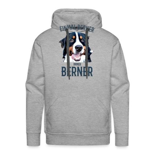 Berner Sennenhund Bern Geschenk Hundehalter - Männer Premium Hoodie