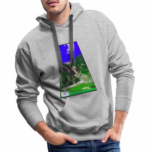 BergAUsBlick ValC - Männer Premium Hoodie
