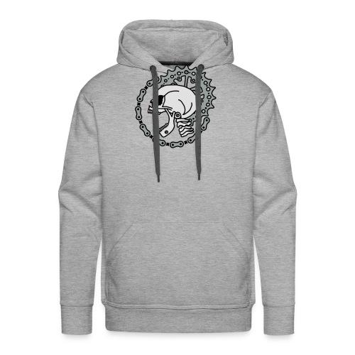 Skull Chain Punk-3c - Männer Premium Hoodie