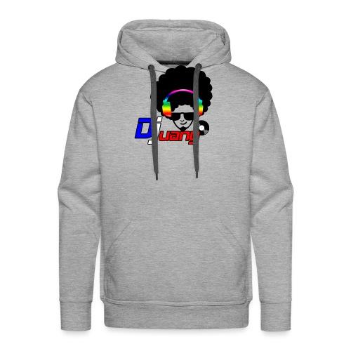 Djuany logo - Felpa con cappuccio premium da uomo