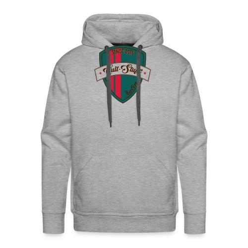 Cult Stuff - Logo grün rot - Männer Premium Hoodie