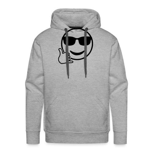 Shaka Emoji - Männer Premium Hoodie
